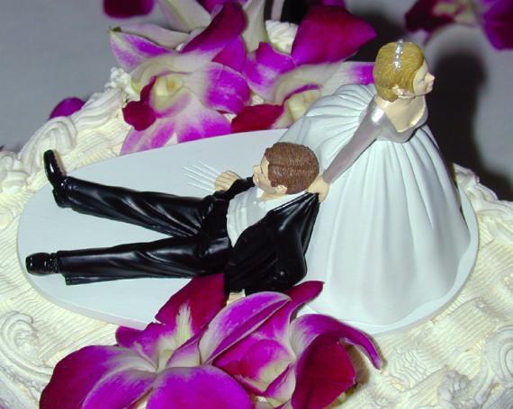 Un g teau de mariage trop drole - Photo de mariage drole ...