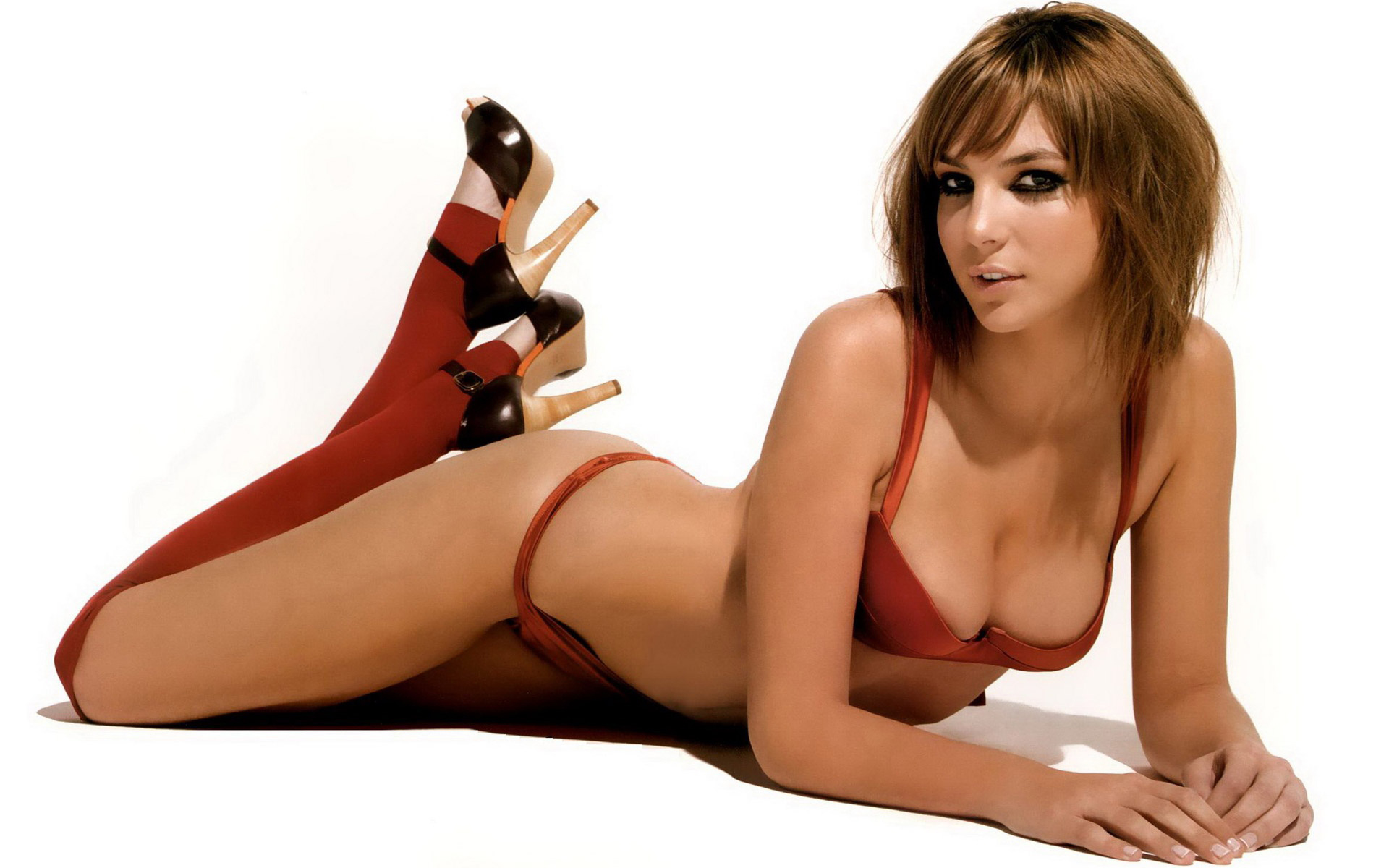 Paloma Bloyd Red Lingerie