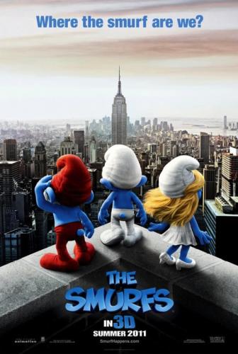 Les Schtroumpfs se font New-York en 3D