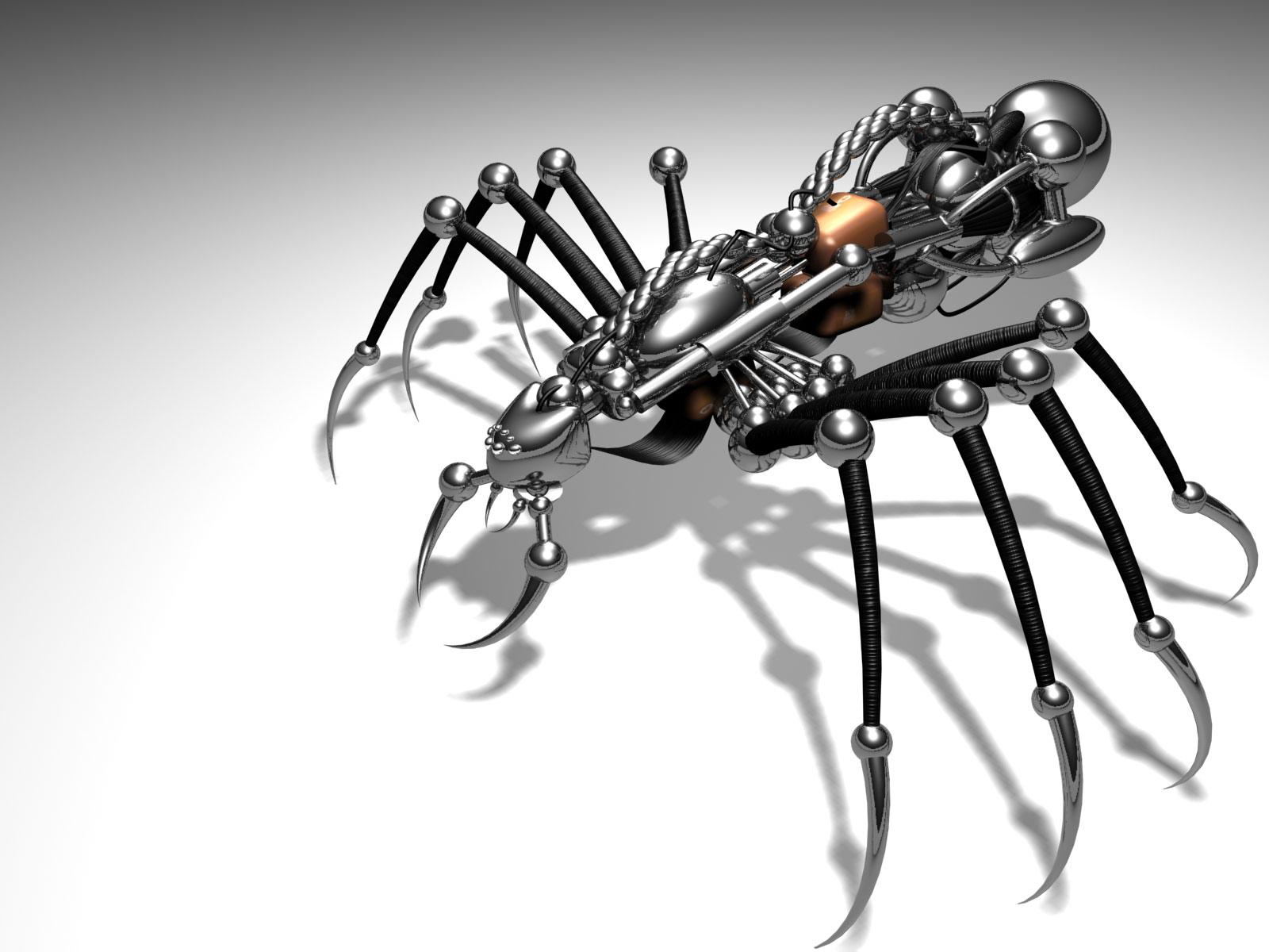 Araignée Métal