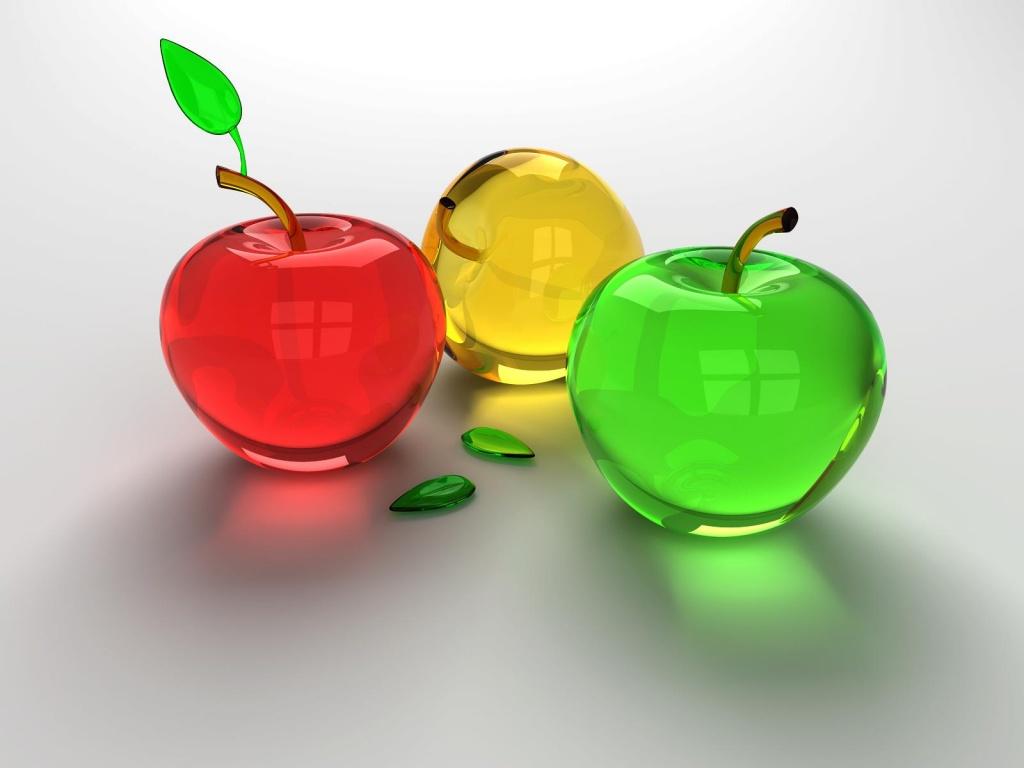 Pommes 3d