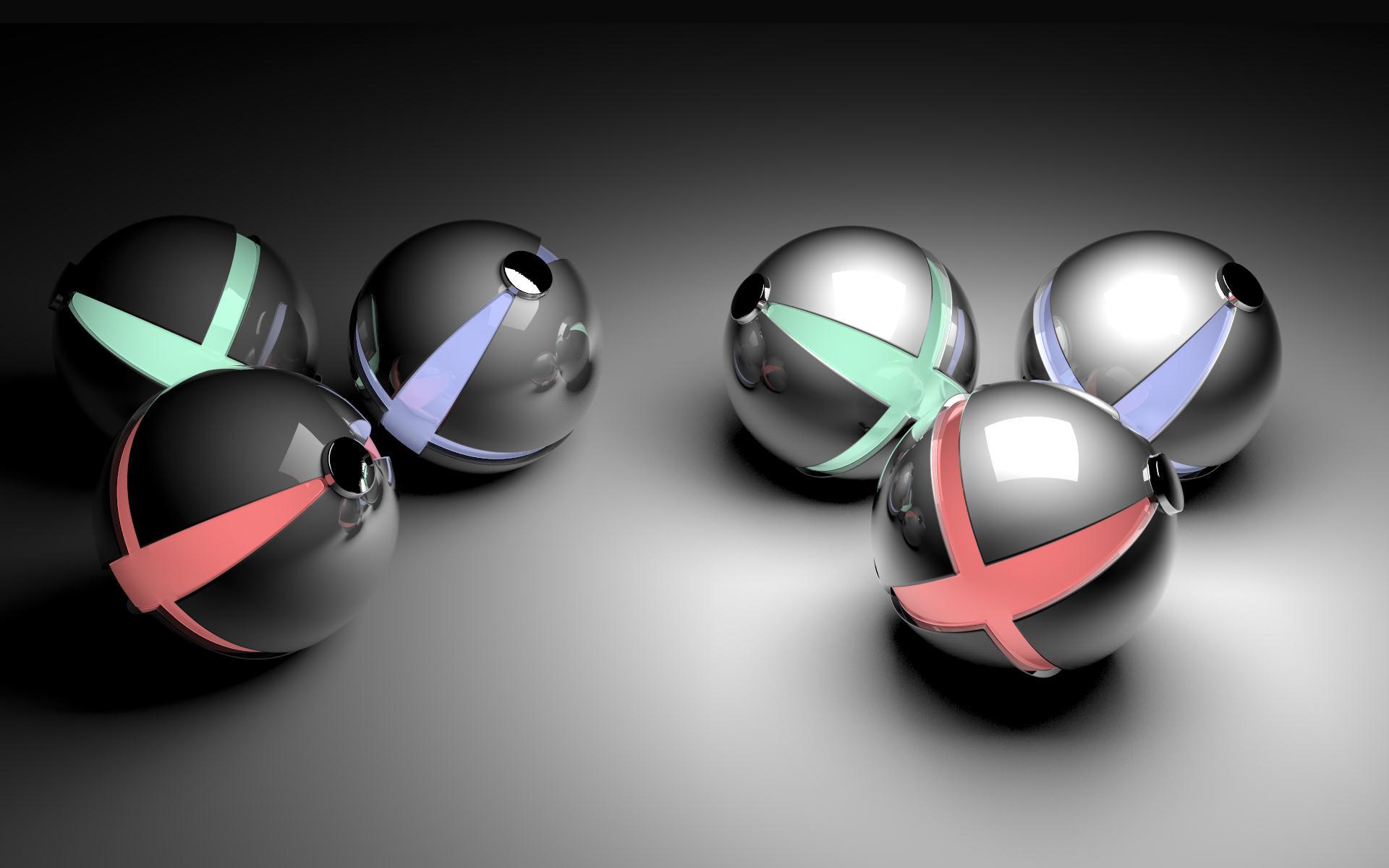 Digital Art Spheres