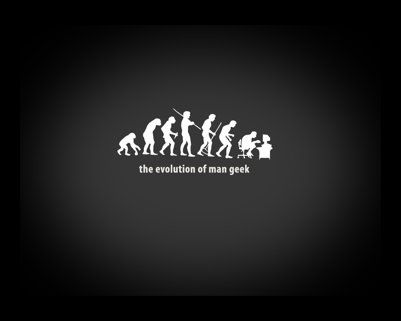 Evolution Of Man Geek