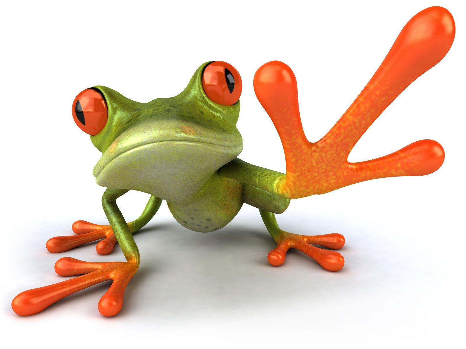 Hello Crazy Green Frog