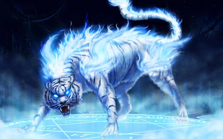 Fantasy Maltese Blue Tiger
