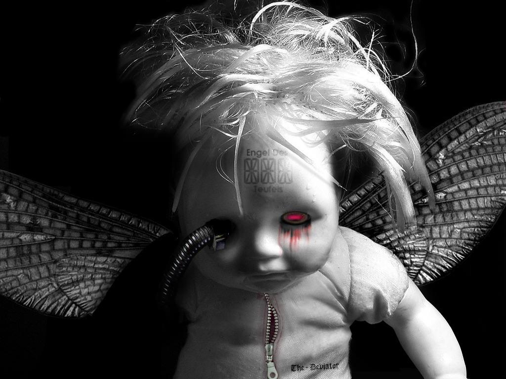 Darkness Bleeding Child