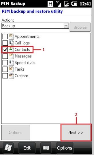 [TUTO] Récupérer ses contacts sur Windows Mobile avec PIM Backup Image.num1304768229.of.world-lolo.com