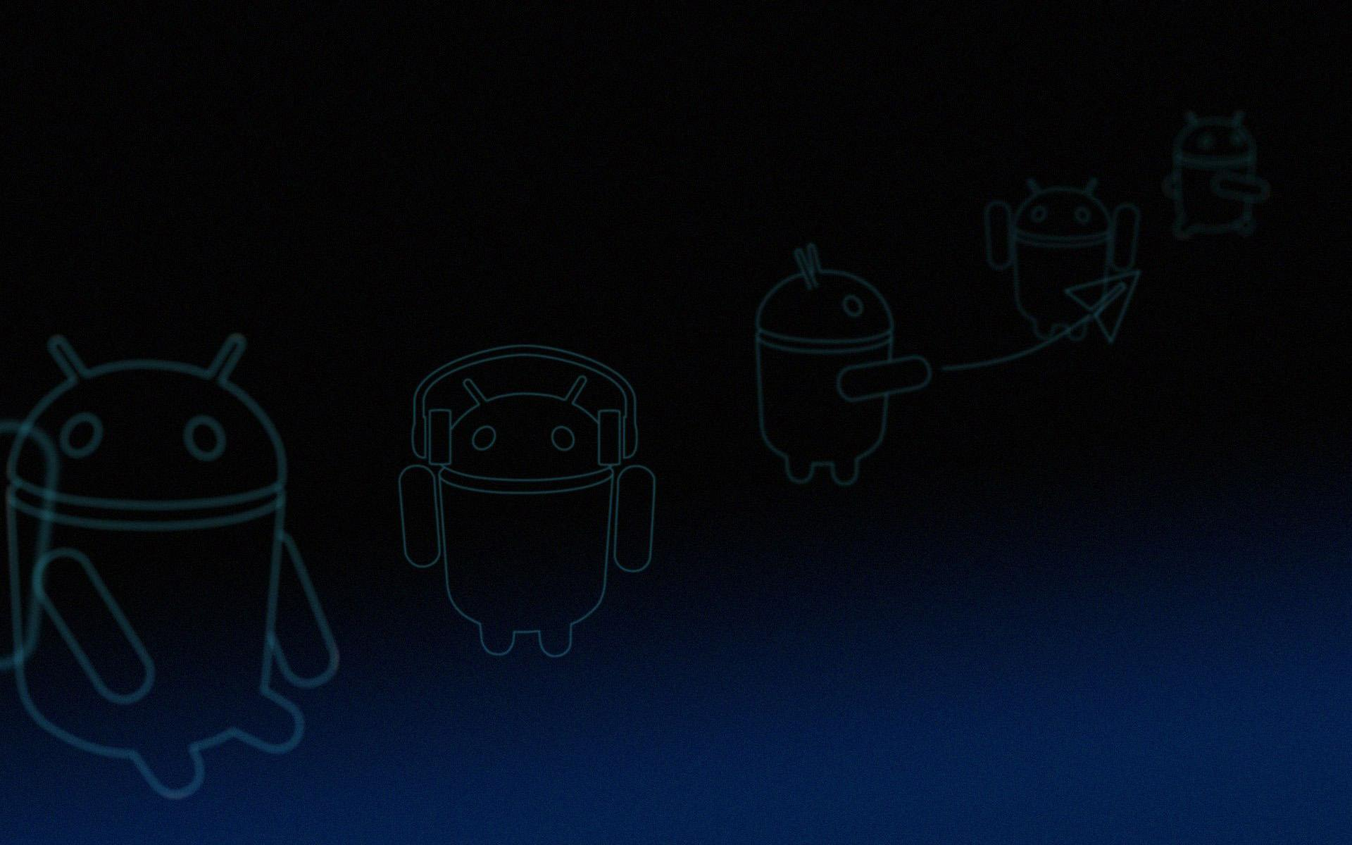 Android Honeycomb Blue Linebots