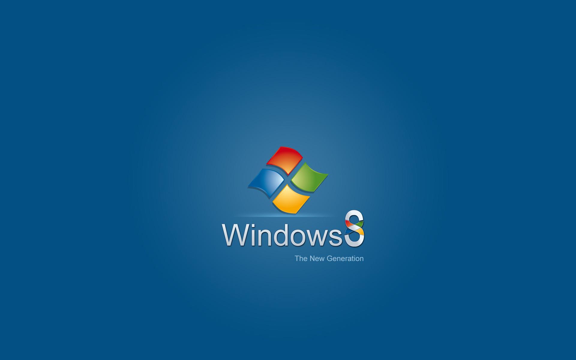 Windows 8 New Generation
