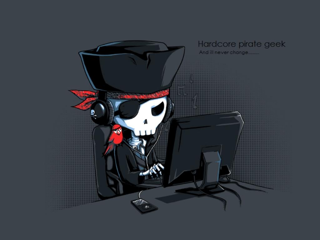 Hardcore Pirate Geek