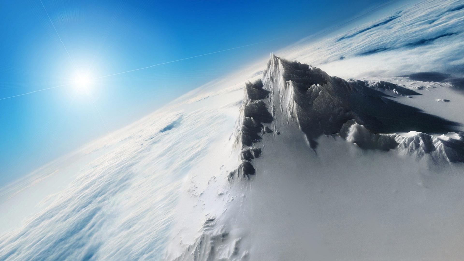 Nature Snow Peak