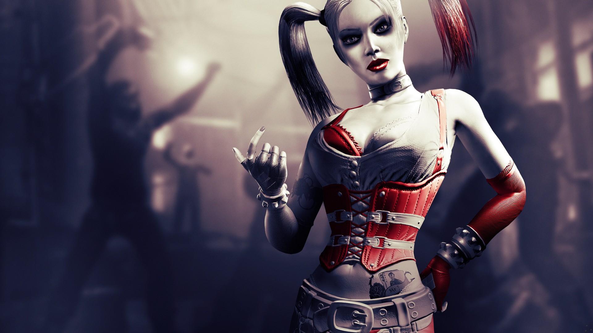 Harley Quinn Batman Arkham City