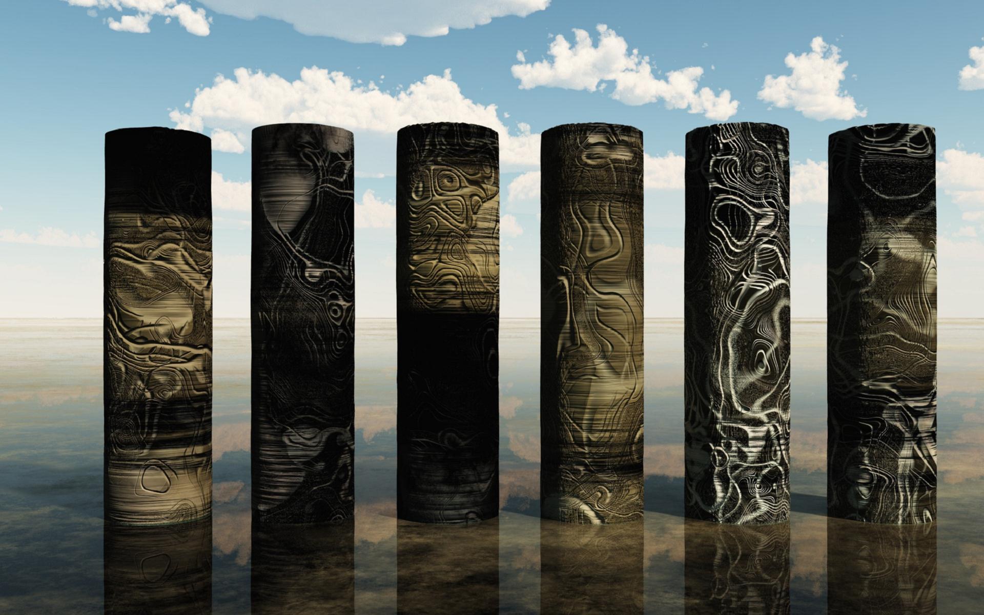 Alien Pillars