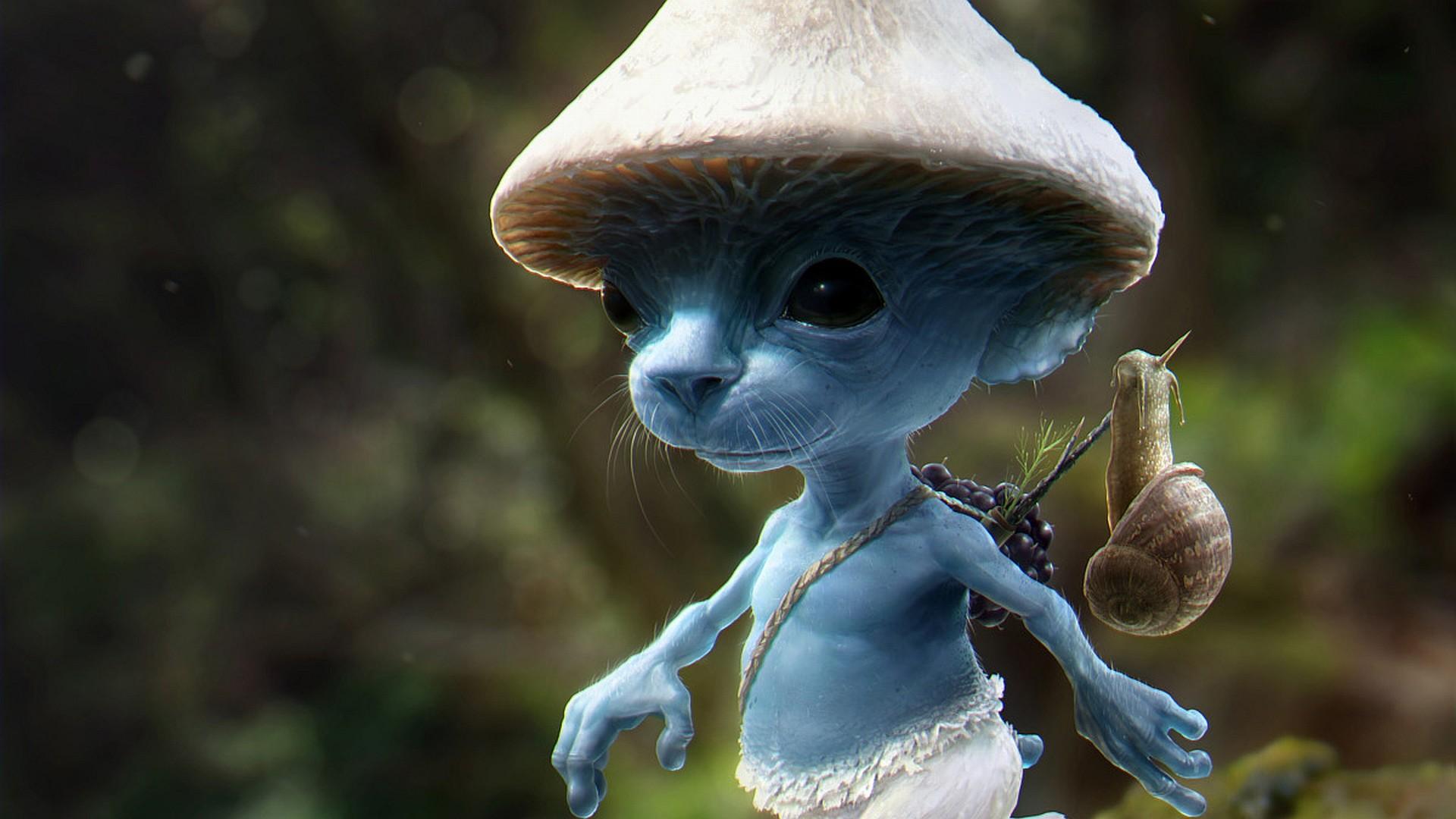 Fantasy Art Creatures The Smurfs