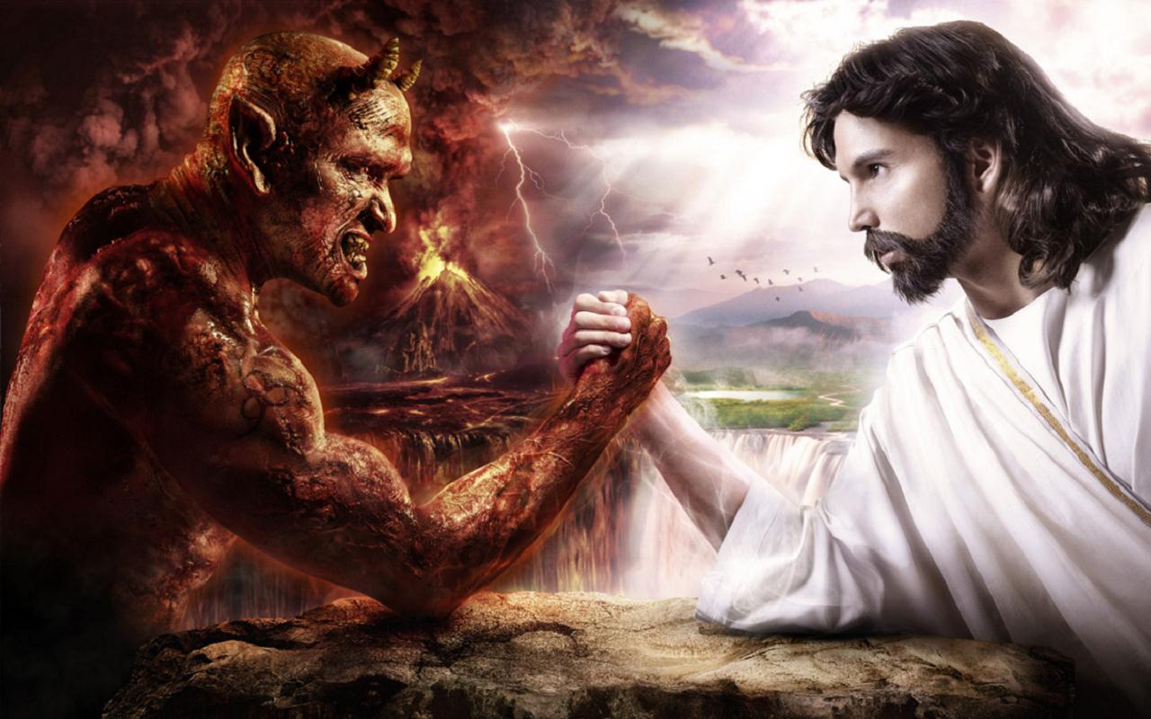 Jesus Christ Vs Satan