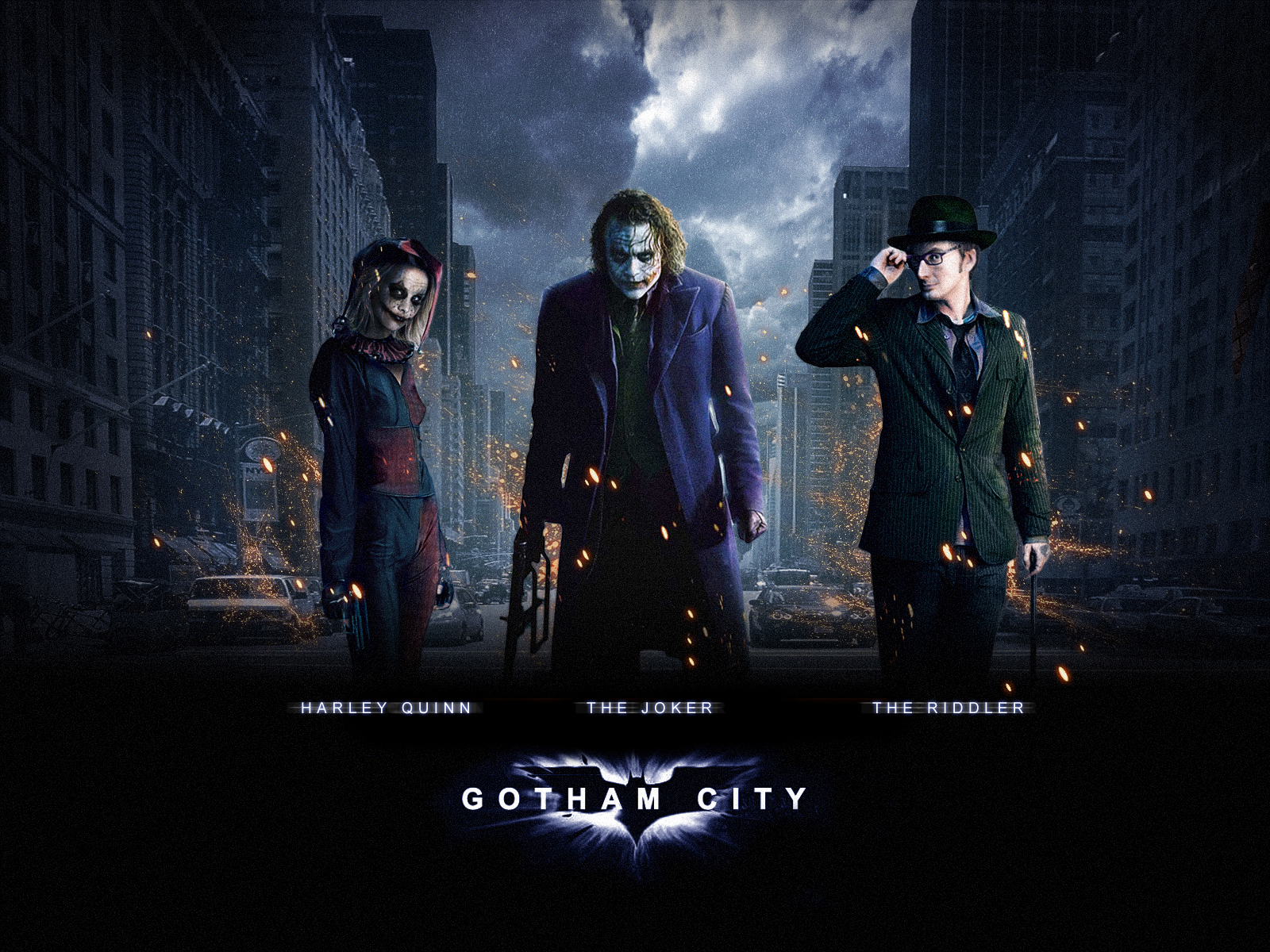 Batman 3 Gotham City