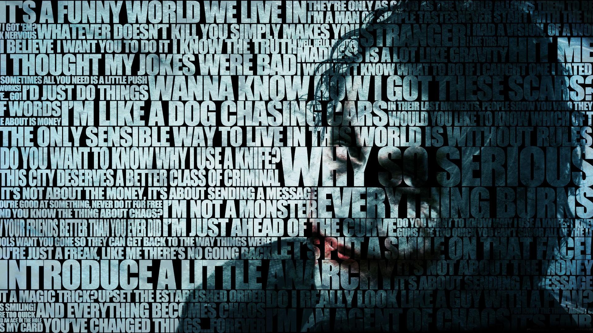 The Joker Typography