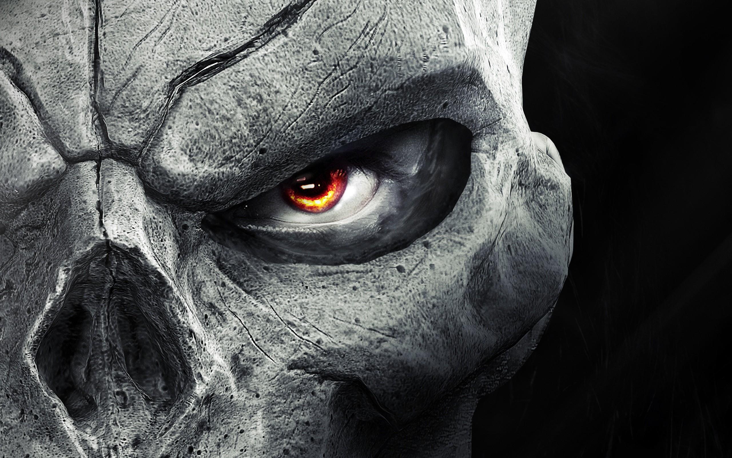 Skulls Eyes Death Dark