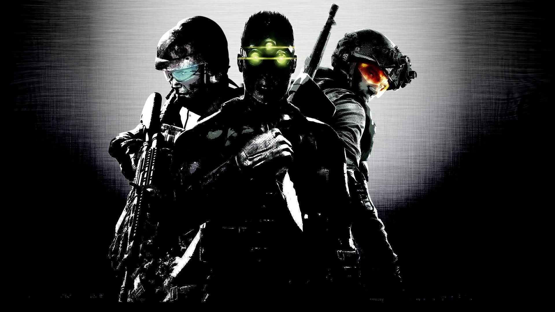 Splinter Cell Rainbow Six : Vegas Ghost Recon Tom Clancy