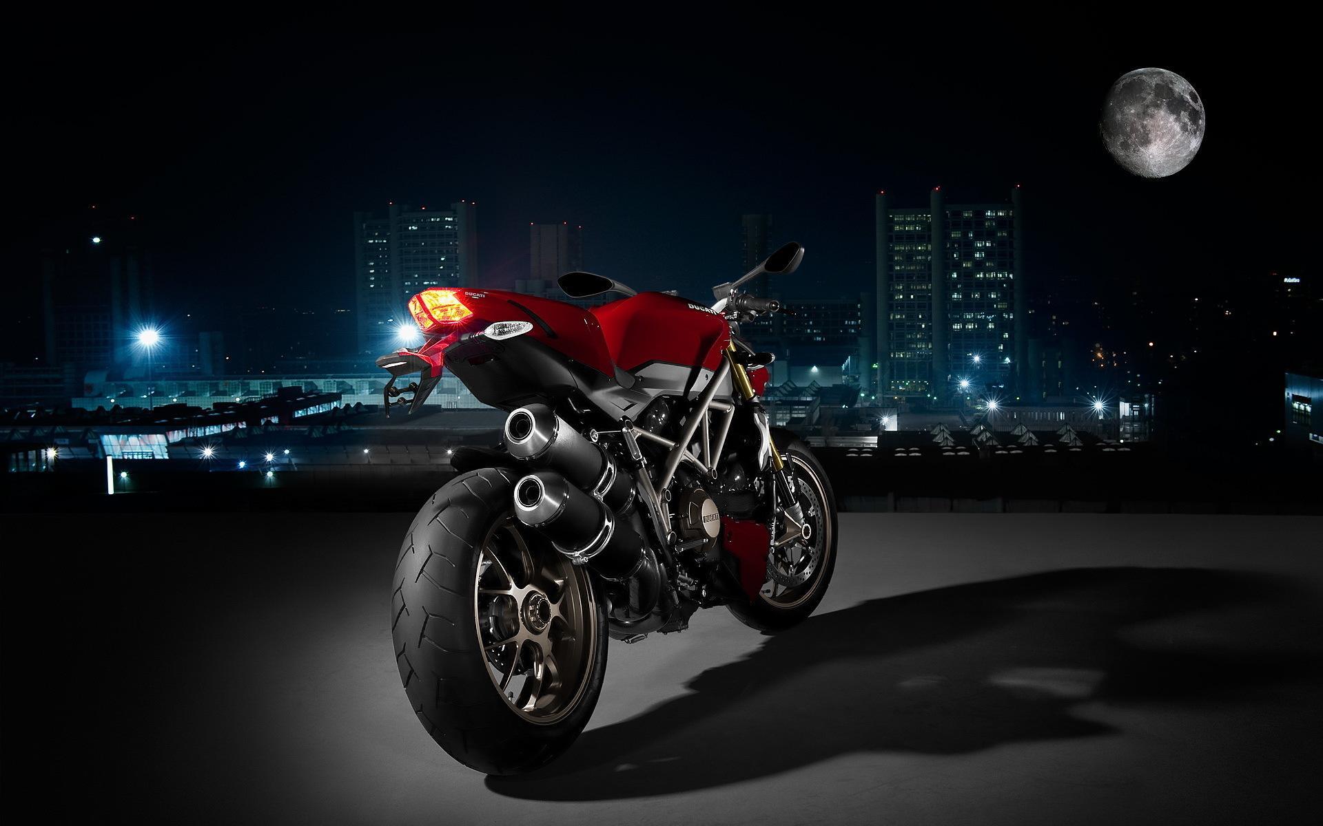 Ducati At Night