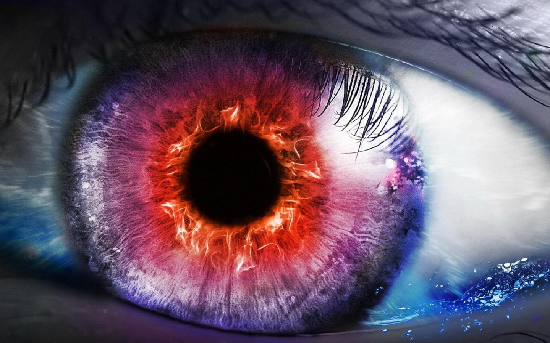 Fantasy Eyes Coloring
