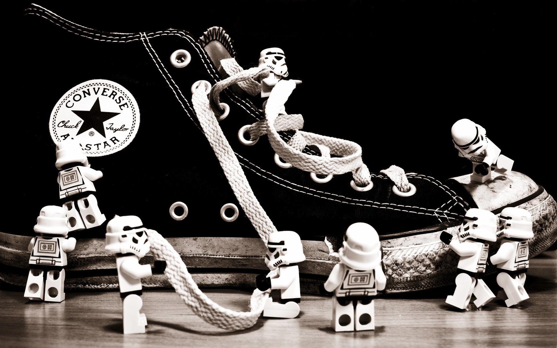 Lego Star Wars On Shoes Converse