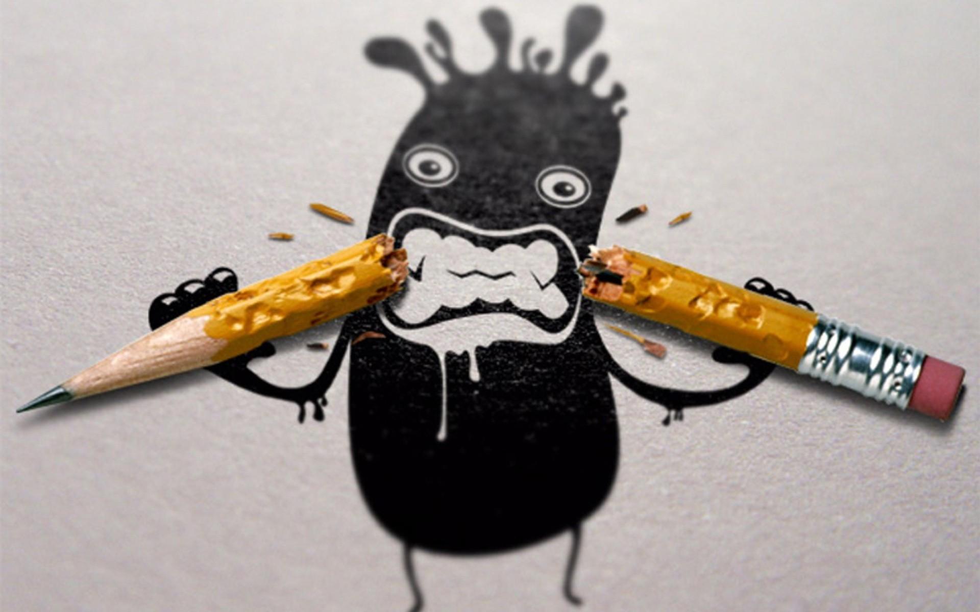 Funny Artwork Pencils