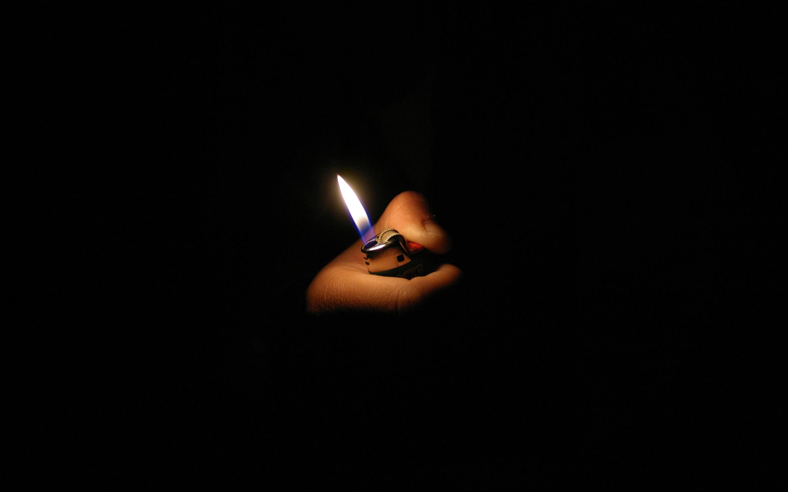 Light Dark Fire Hands