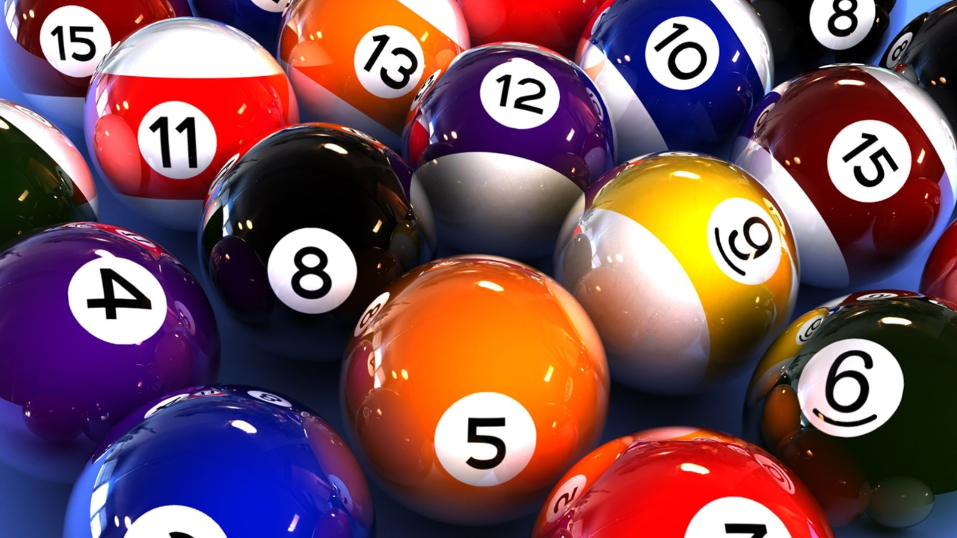 Colorful Balls Billiards Games