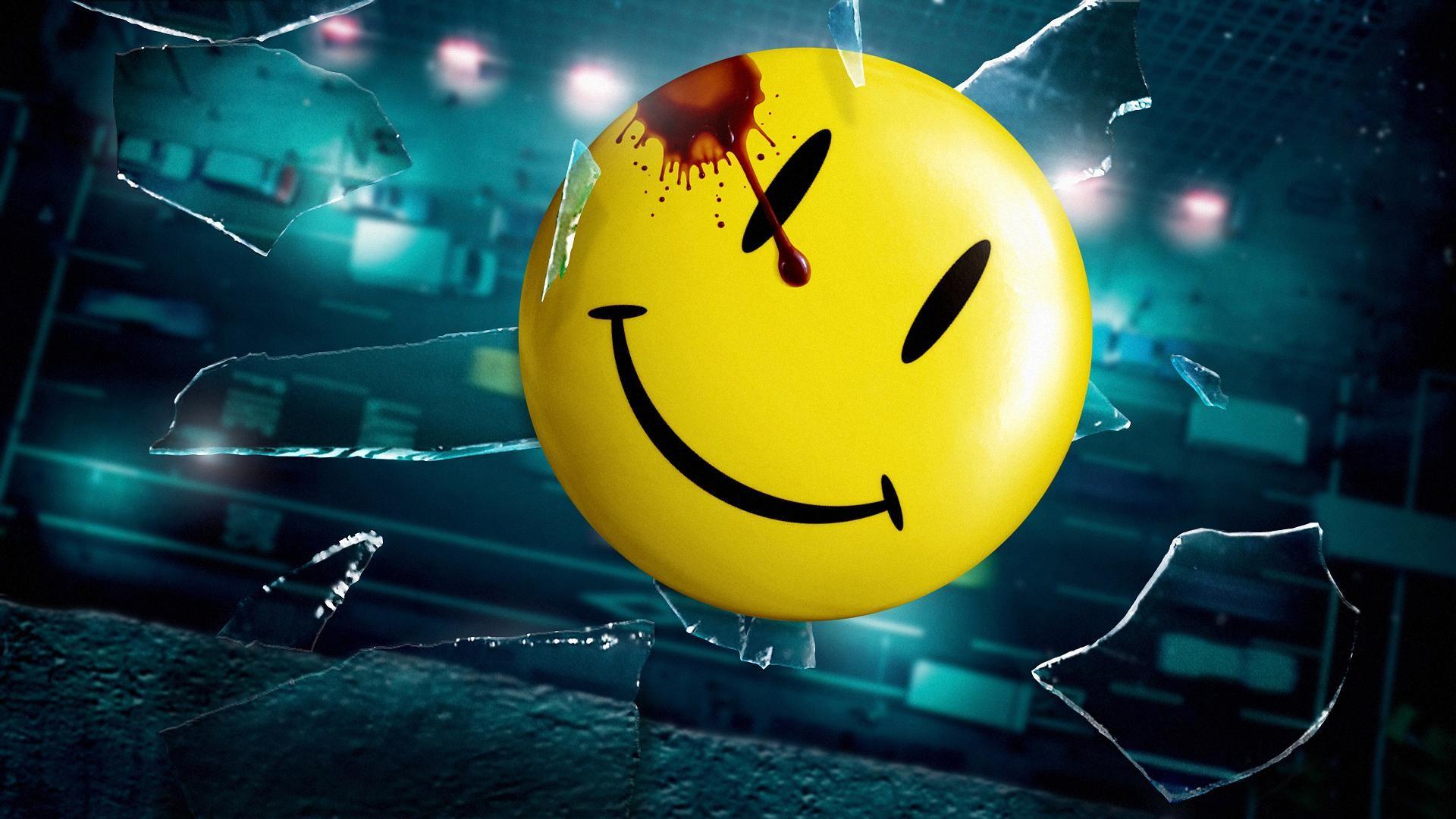 Smiley Broken Glass