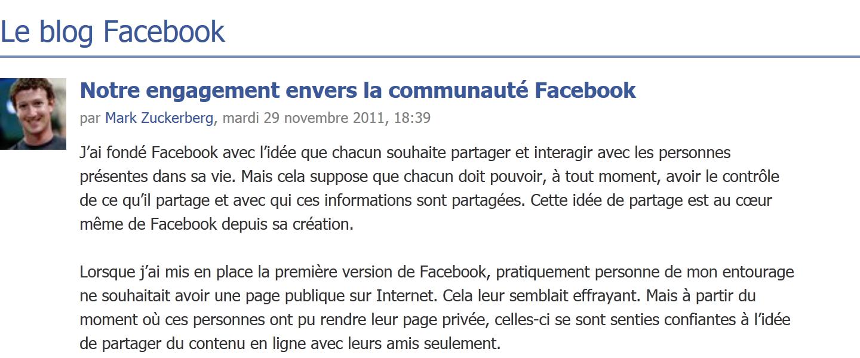 Pour « quelques erreurs », Facebook contrôlé pendant 20 ans