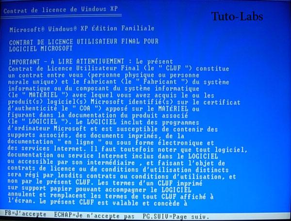 patch xp installer le disque