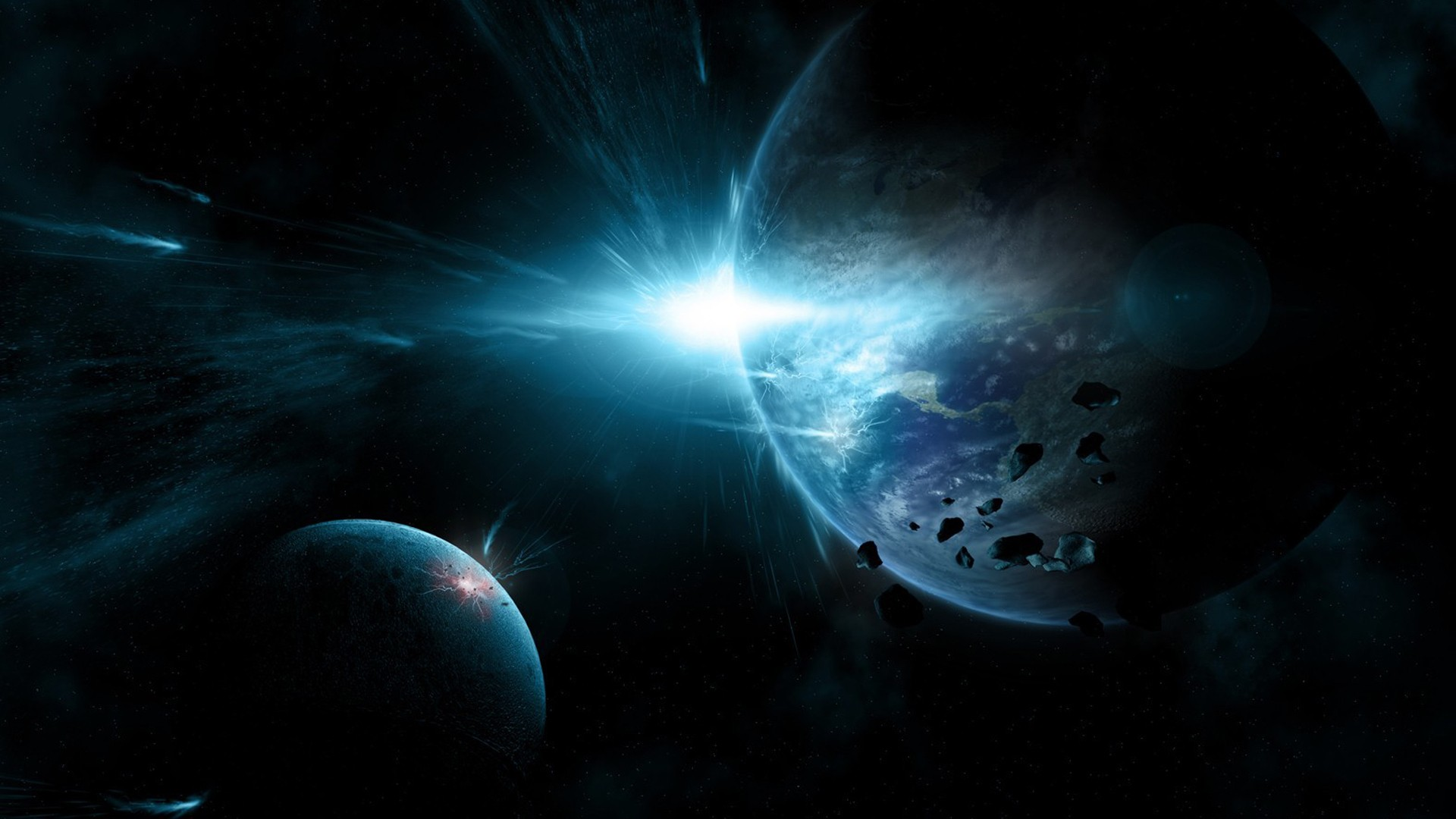 Fantasy Art Planets
