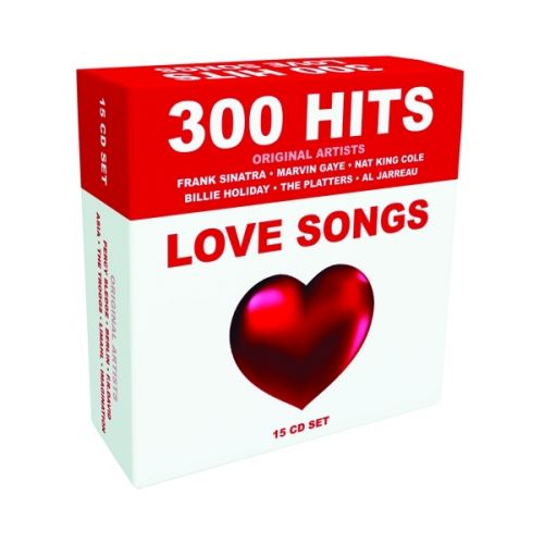 300 Hits Love Songs (15 CD) - 2012  [MP3@320kbps]