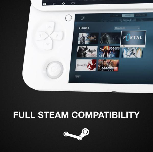 Pgs une console portable capable de faire tourner tous les jeux pc - Fabriquer une console de jeux ...